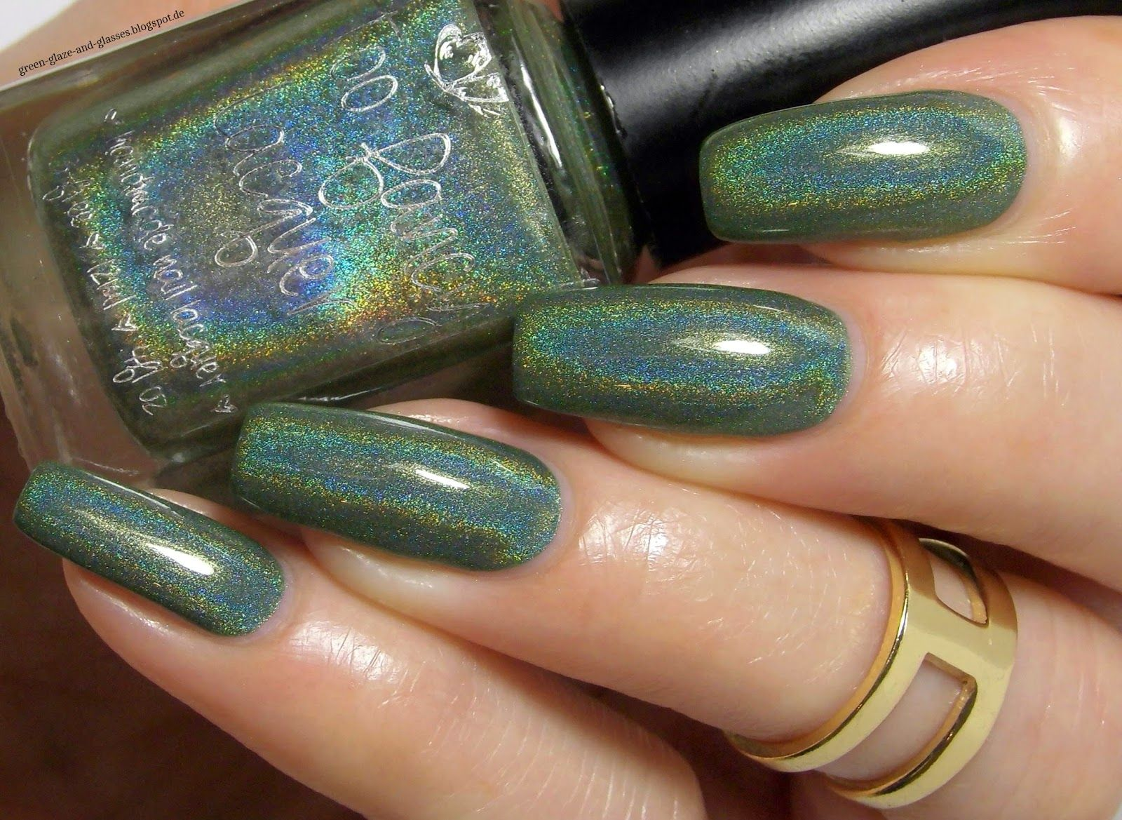 Green, Glaze & Glasses: Too Fancy Lacquer - Hold Out The Olive Branch (Lacke in Farbe... und bunt!)