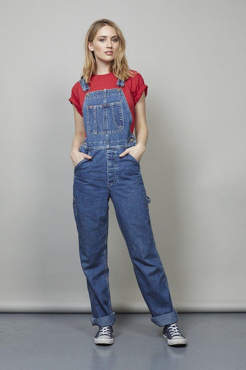 Urban Classics Pantalon Femmes Ladies Dungaree Latzhose