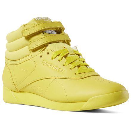 4452733222529 Reebok Women s Freestyle Hi in Multi Size 6 - Casual Shoes