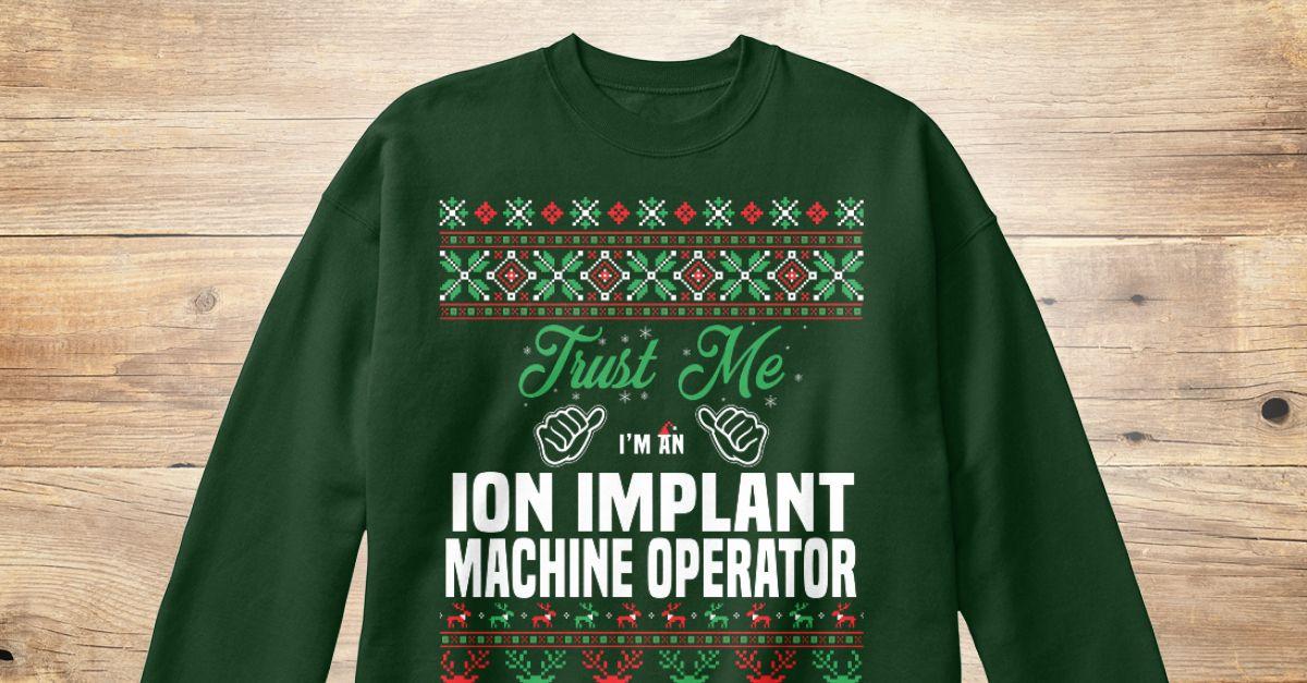 Ion Implant Machine Operator - machine operator job description