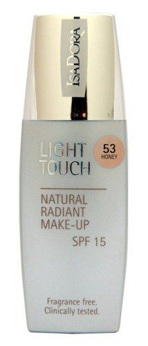 IsaDora Light Touch Natural Radiant MakeUP SPF 15 53 Honey >>> Awesome product. Click the image : All Natural Makeup
