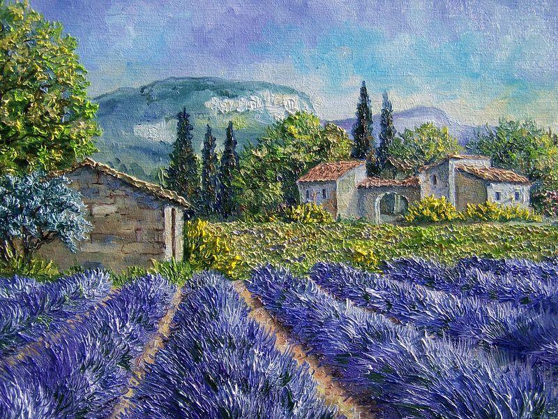 Annie riviere art google annie riviere - Peinture couleur lavande ...