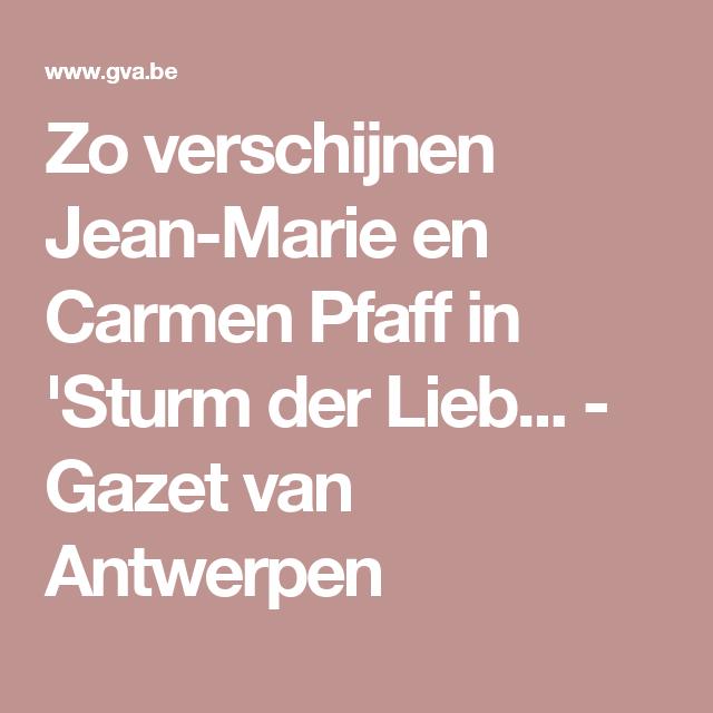 Zo verschijnen Jean-Marie en Carmen Pfaff in \'Sturm der Lieb ...