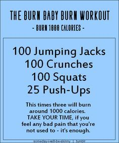 Pin By Janie Sonnier Leblanc On Exercise Calorie Burning Workouts Calorie Workout 300 Calorie Workout