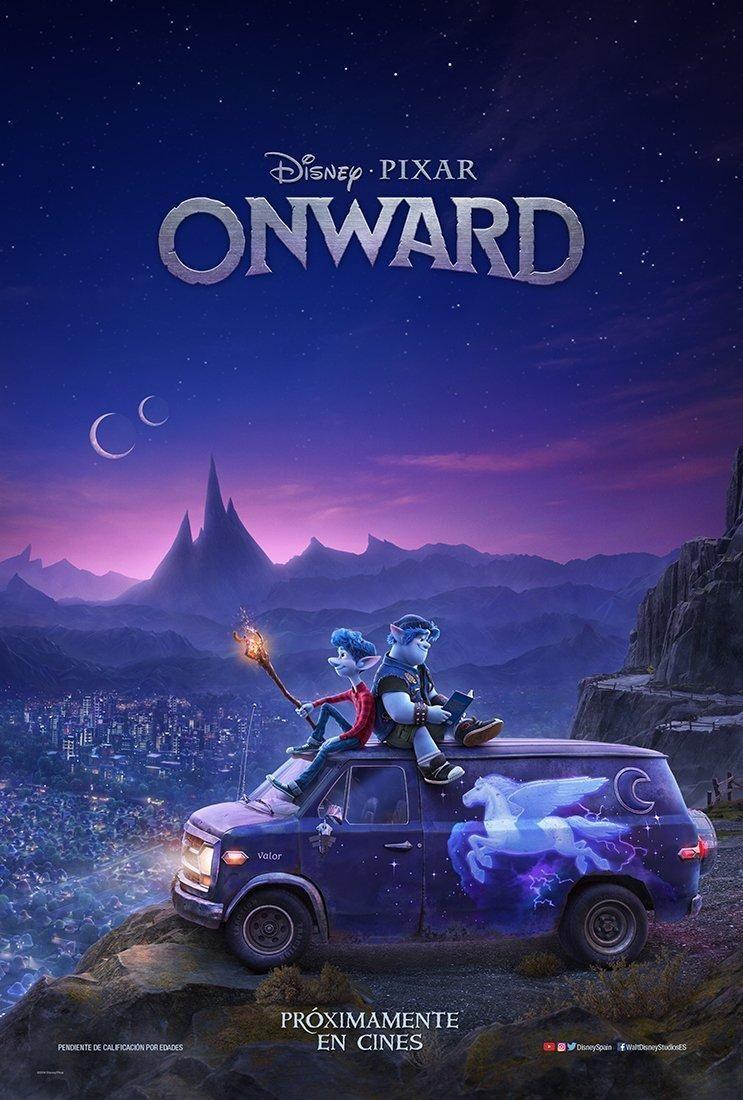 Sección Visual De Onward Filmaffinity Peliculas De Disney Ver Peliculas Gratis Películas De Pixar