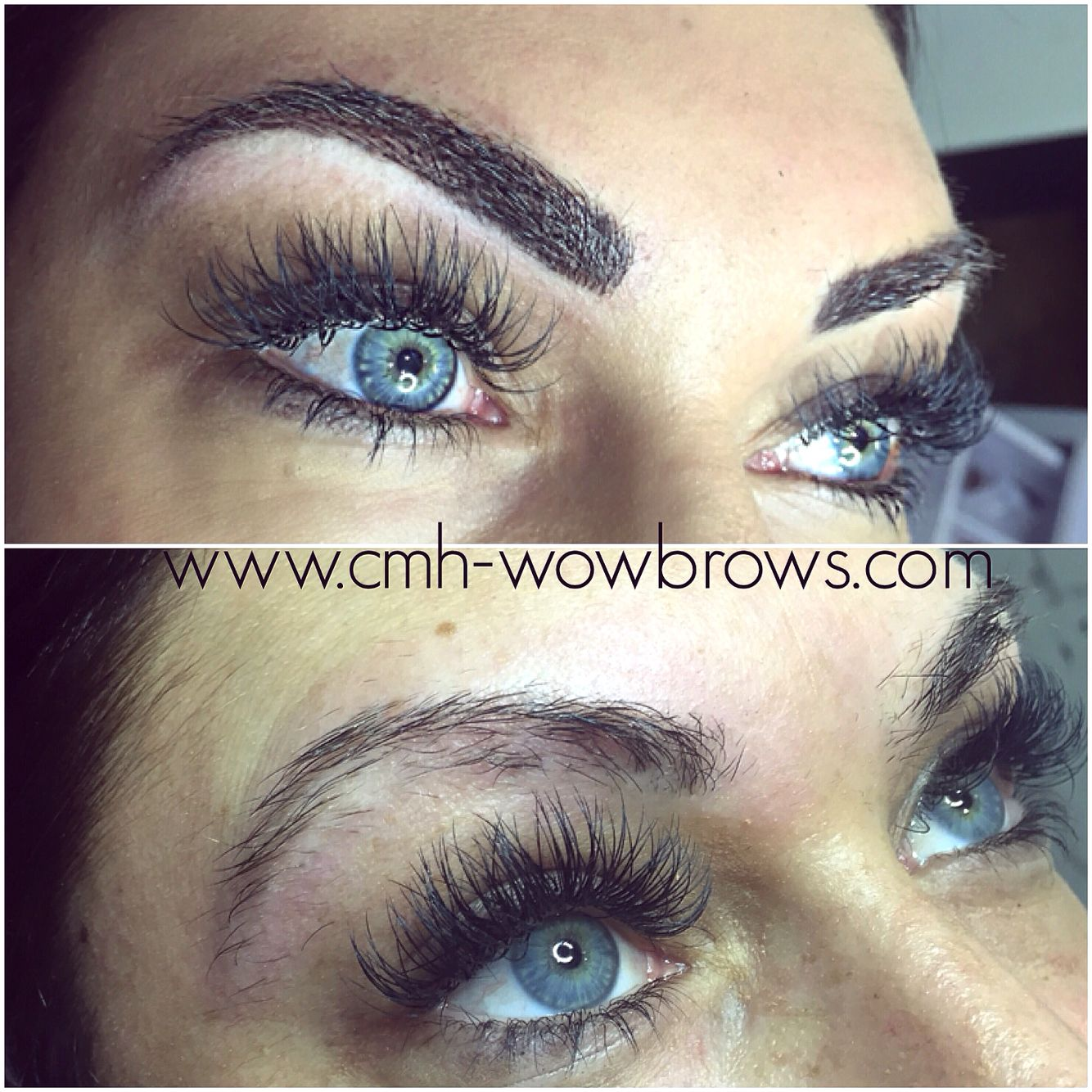 Microblading - feathering - feather touch brows - Microstroke - hair ...