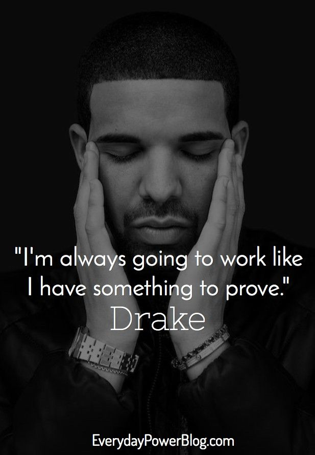 Drake Song Quotes New 25 Motivational Drake Quotes About Becoming Successful  Quotes