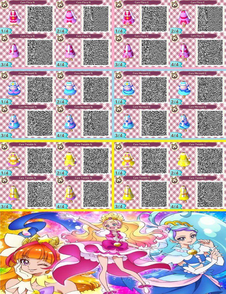 Animal Crossing Qr Codes Go Princess Precure By Superangel502