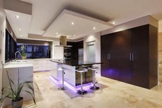 30 False ceiling designs  types  ideas   Materials and lighting   30 False ceiling designs  types  ideas   Materials and lighting systems. Modern False Ceiling Design For Kitchen. Home Design Ideas
