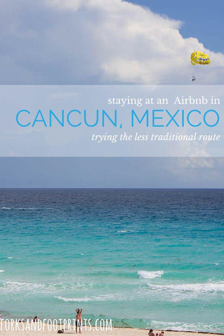 Staying at an Airbnb in Cancun offers a unique opportunity to experience the local culture and still keeps you only a short bus ride away from the beaches.