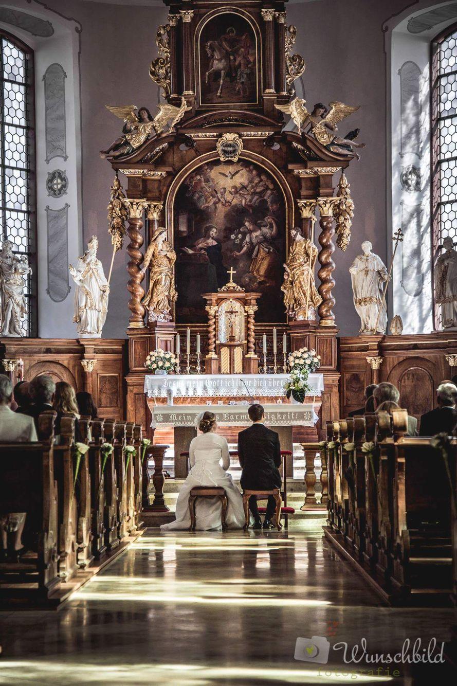 ökumenische Trauung In Der Evangelischen Kirche Ober Erlenbach