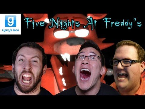Five Nights at Freddy's GMod Horror Map Part 4 With