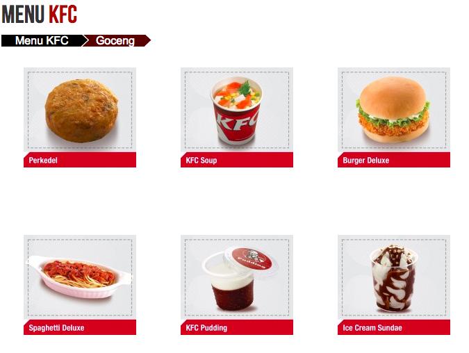Harga Paket Goceng Kfc Terbaru Kfc Makanan Restoran
