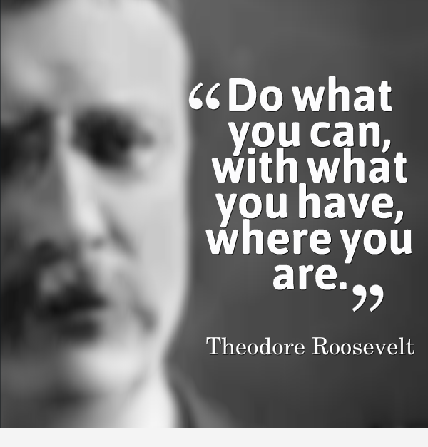 Famous Inspirational Quotes: Theodore Roosevelt Famous Quotes
