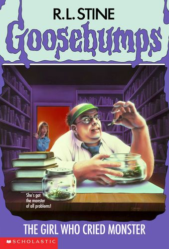 The Girl Who Cried Monster Goosebumps 8 By R L Stine Trade Paperback 2 95 Goosebumps Books Goosebumps Childhood Books