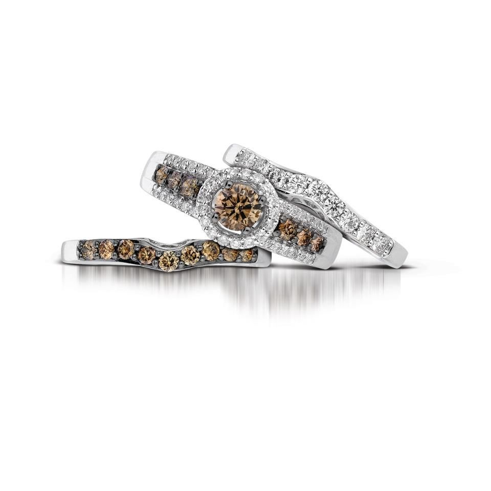 From Le Vian S Accidental Bridal Collection With Chocolate