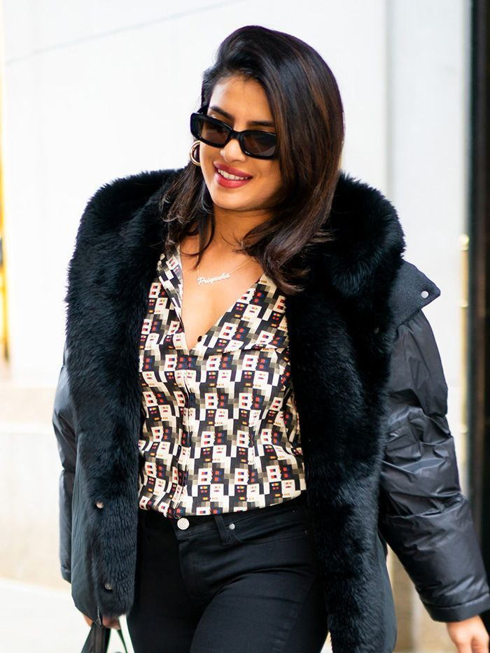 Black Skinny Jeans and These Ankle Boots Are a Priyanka Chopra Outfit Win #skinnyjeansandankleboots Black Skinny Jeans and These Ankle Boots Are a Priyanka Chopra Outfit Win #skinnyjeansandankleboots