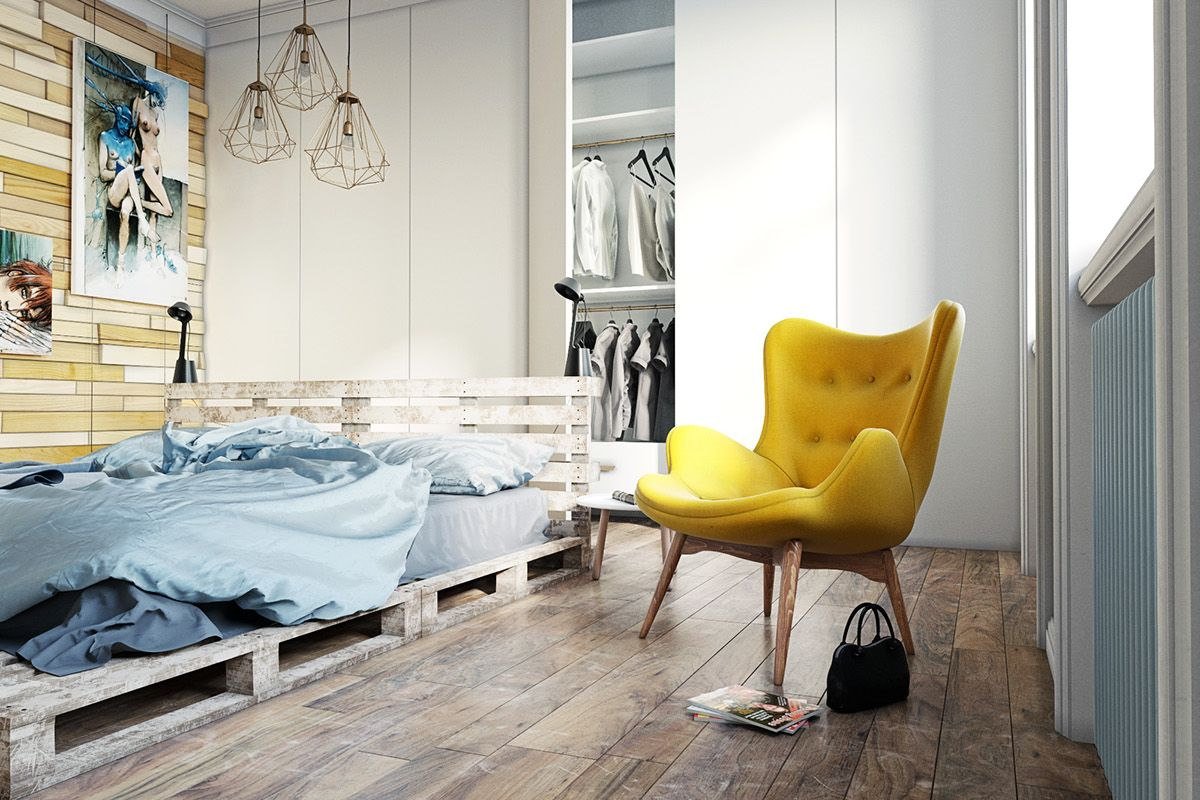 scandinavian bedroom furniture. 4 Scandinavian Homes With Irresistibly Creative Appeal Bedroom Furniture