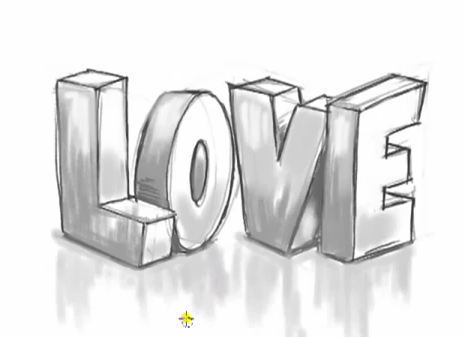 The Word Love Thewordlovedrawbygraffitifonts Png