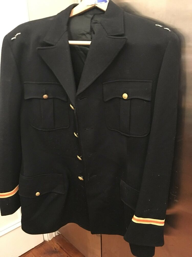 Adam Lust Military Coat With Brass Buttons Frankfurt Germany