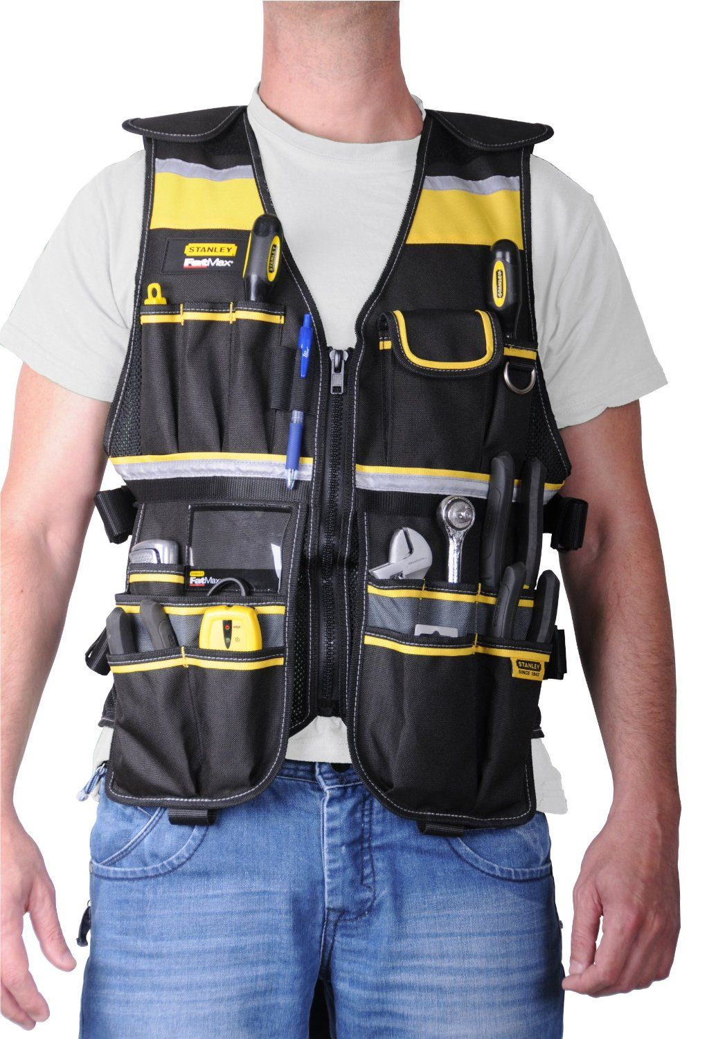 garage workshop ideas photos - Stanley FMST Fatmax Tool Vest Amazon