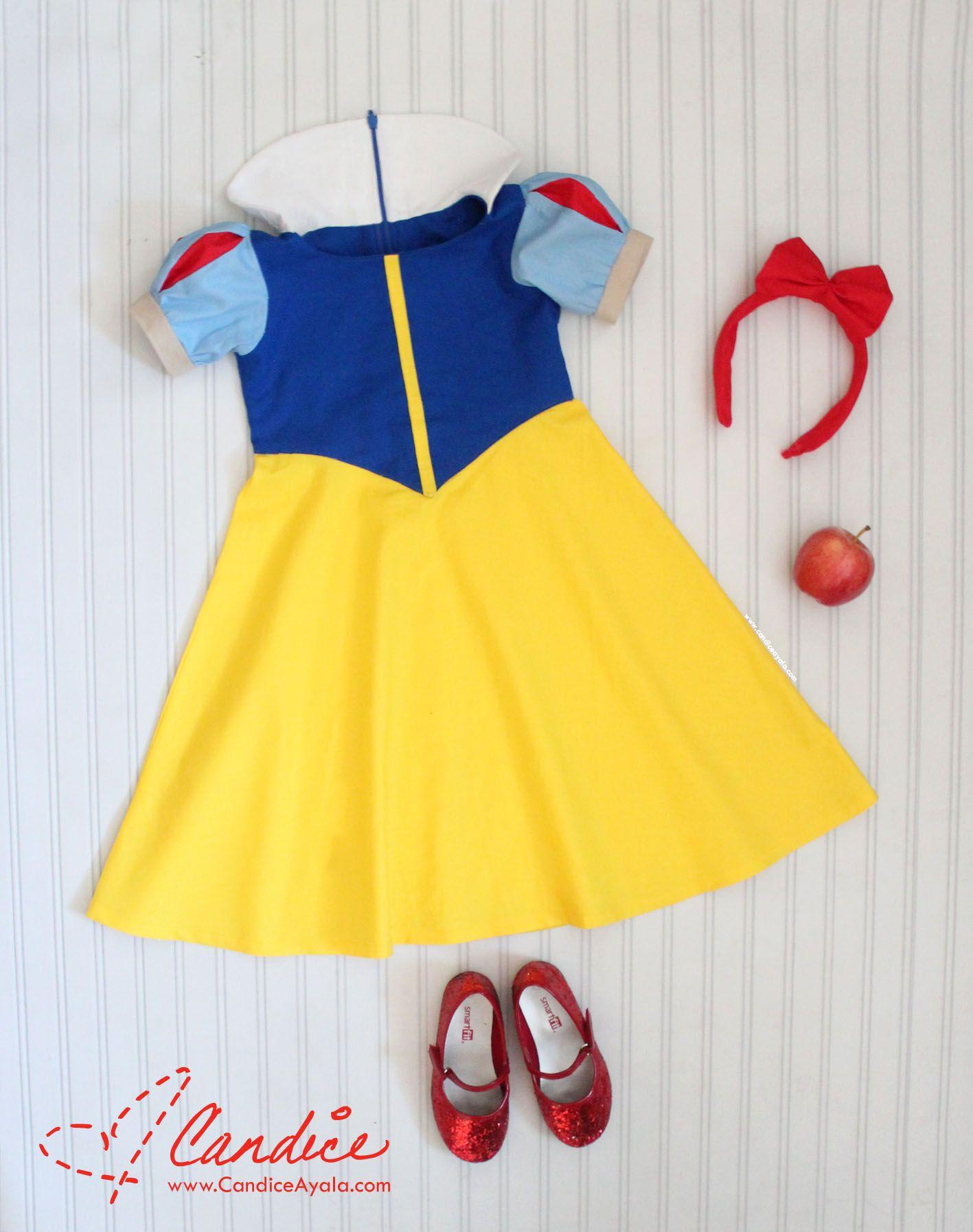 Snow White Dress DIY Diy snow white costume, Snow white