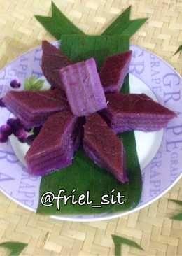 Kue Lapis Ubi Ungu Dessert Recipes Food Desserts