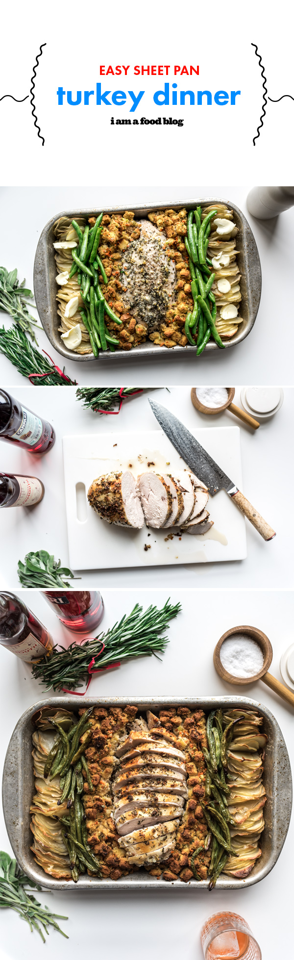 Sheet Pan Turkey Dinner Recipe Whole turkey recipes