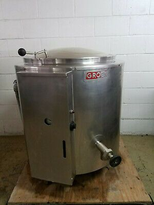 Ad Ebay Groen Ee40 502 M Steam Jacketed 40 Gallon Electric Kettle 240 Volt 3 Ph Tested Restaurant And Food Service Business And Industrial In 2019 Lock
