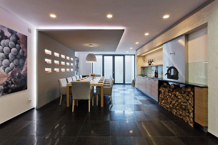 retomb e plafond et mur design details pinterest plafond mur et salle. Black Bedroom Furniture Sets. Home Design Ideas