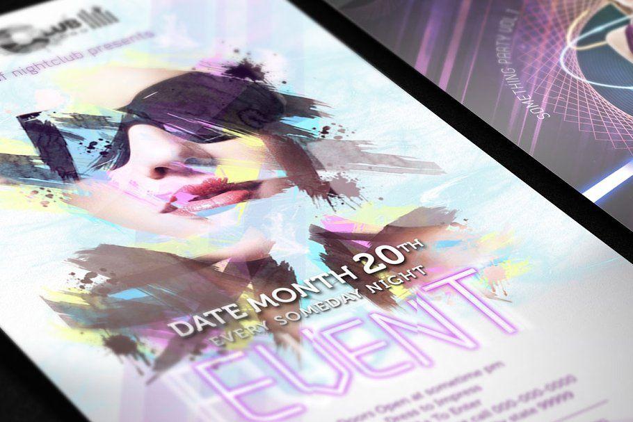Nightclub flyer template 1
