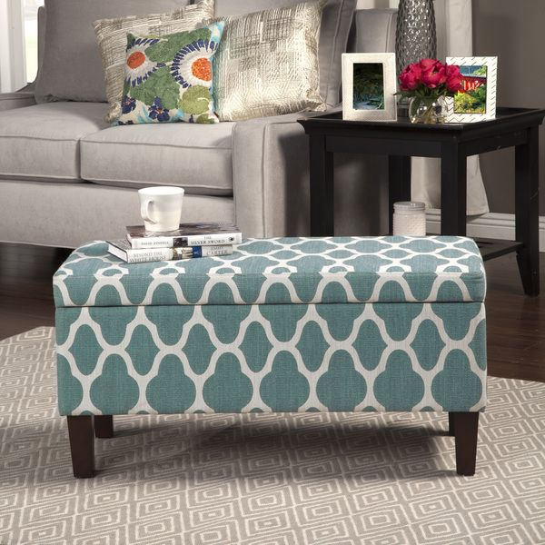 Better Homes & Gardens Pintucked Storage Bench