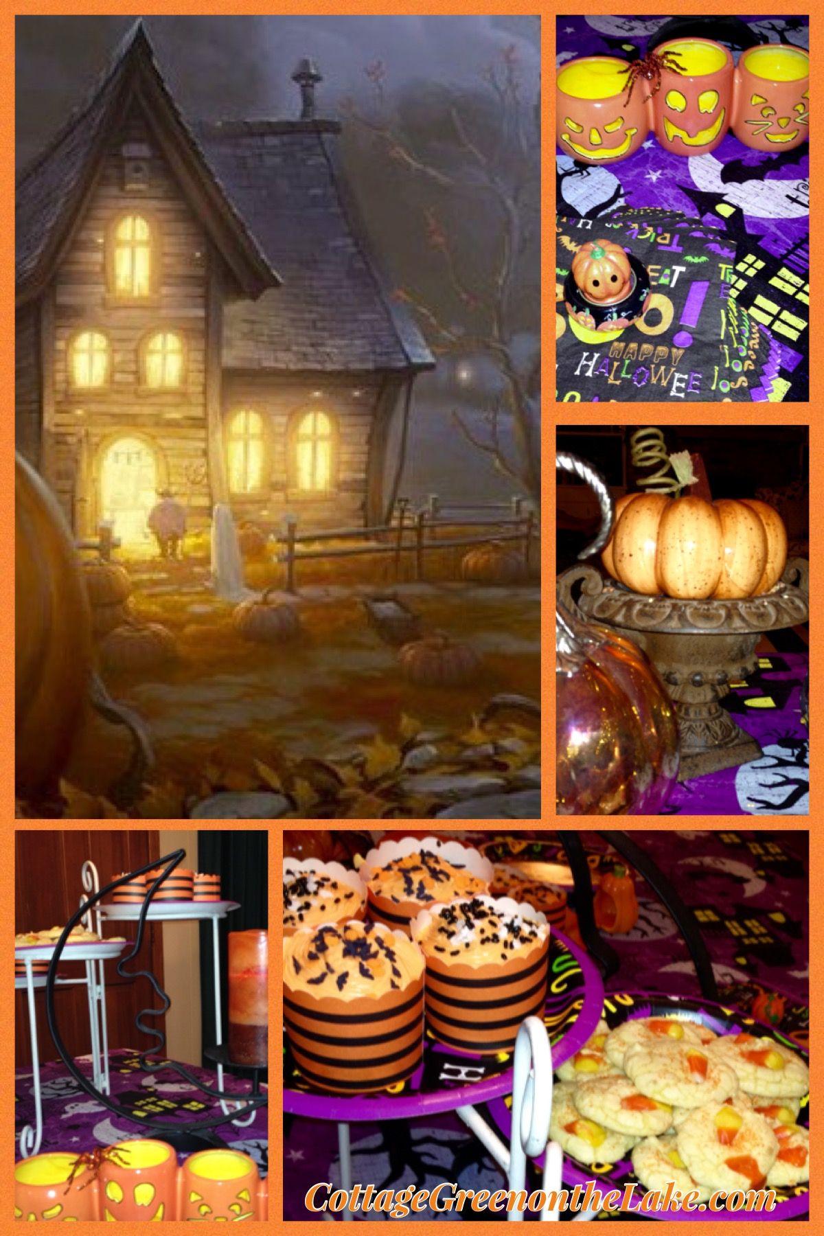 Trick or Treat! Halloween pumpkins jackolanterns
