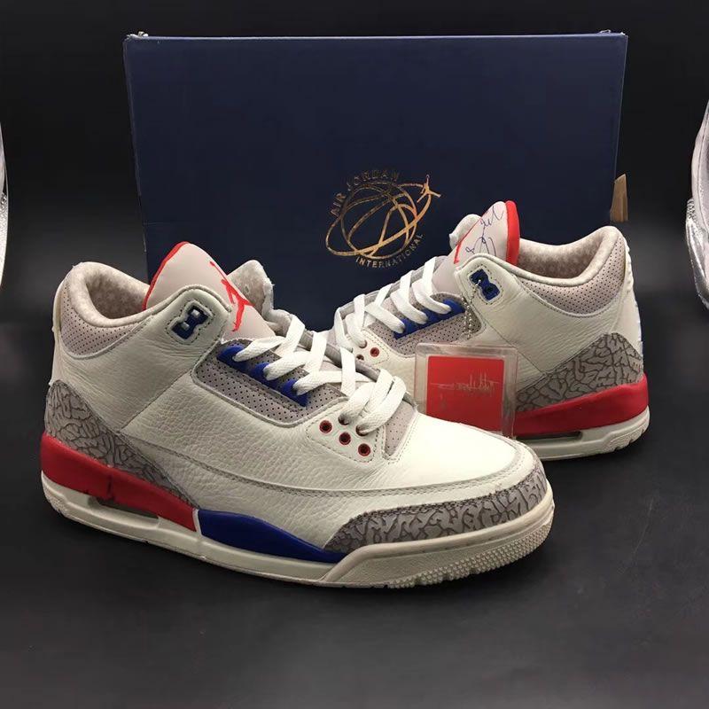quality design c263c 11f84 Air Jordan 3  International Flight    Charity Game    USA  Aka 136064