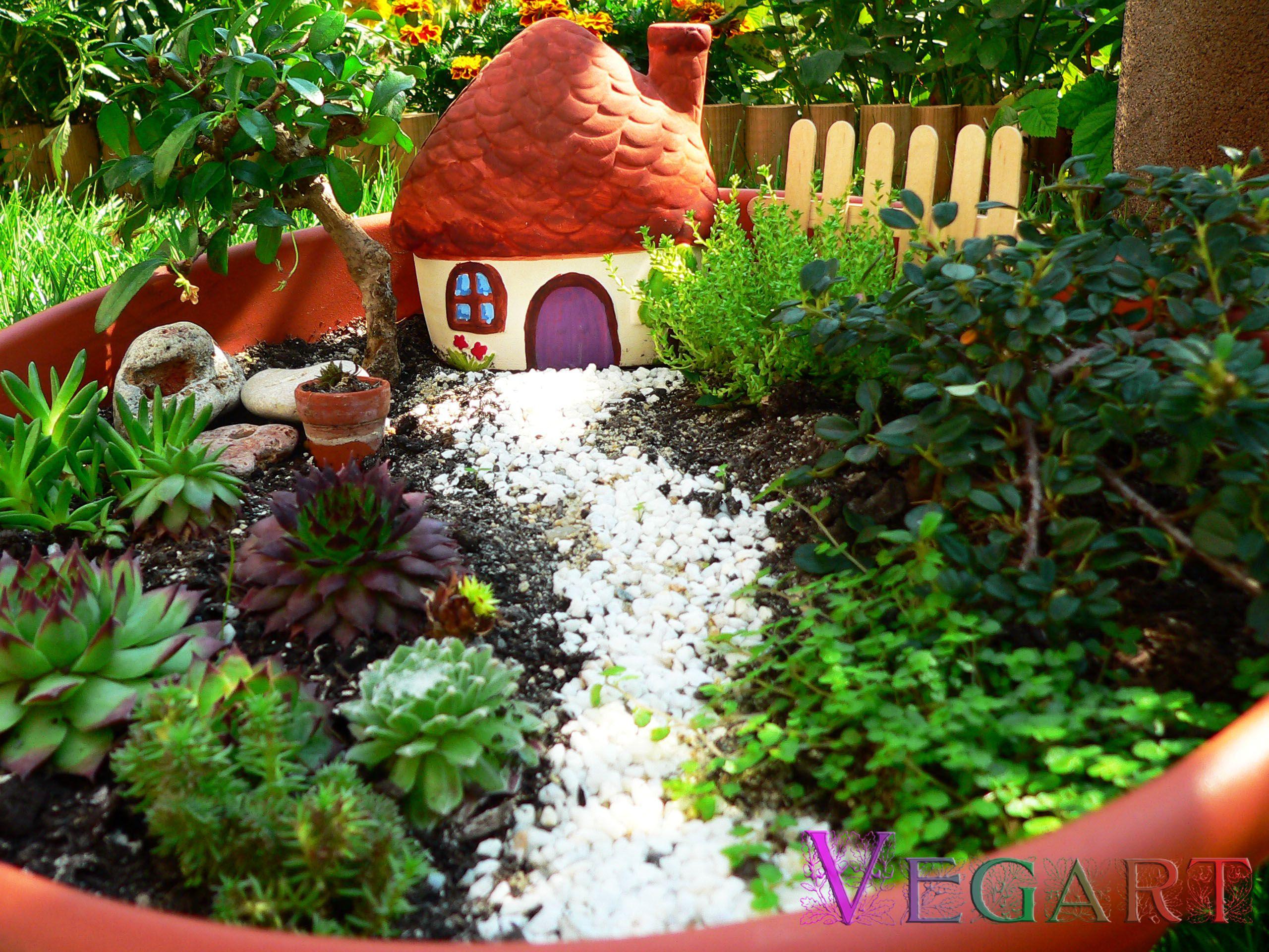 Gr Dina Din Gr Din Miniature Gardensfairy Housesgarden Ideas