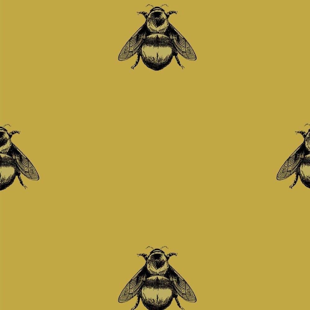 Timorous Beasties Napoleon Bee Wallpaper Timorous Beasties Bumble Bee Art Contemporary Wallpaper Designs