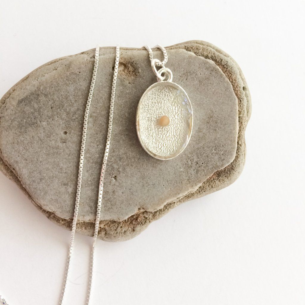 Oval mustard seed pendant silver a perfect peace jewelry oval mustard seed pendant silver aloadofball Image collections