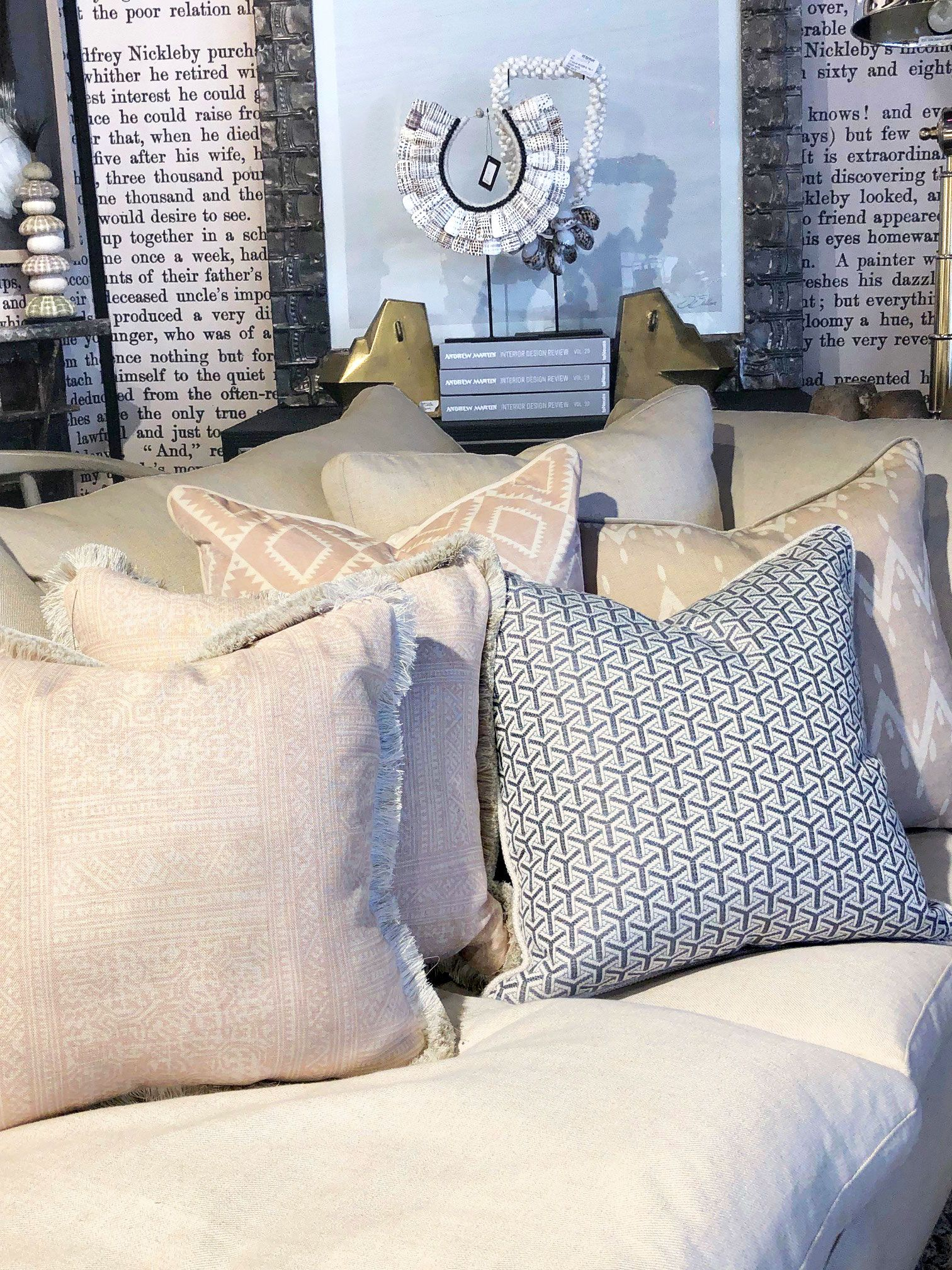Our Latest Cushion Collection Was Designed In Collaboration With