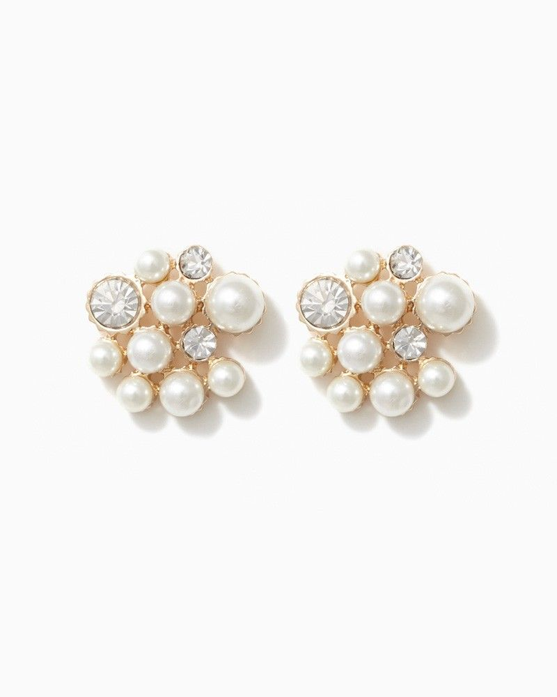 charming charlie Cluster of Luxury Earrings UPC 410006756380