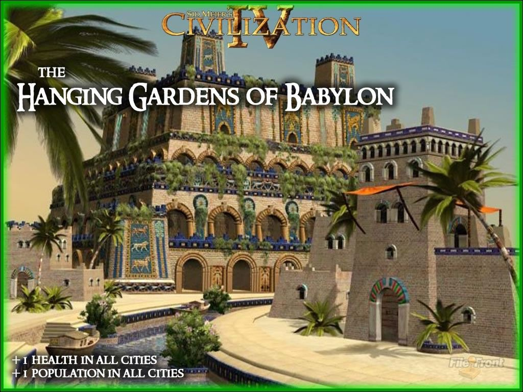 The 7 Wonders Of The Ancient World Hanging Gardens Of Babylon 7 Wonders Of The Ancient World