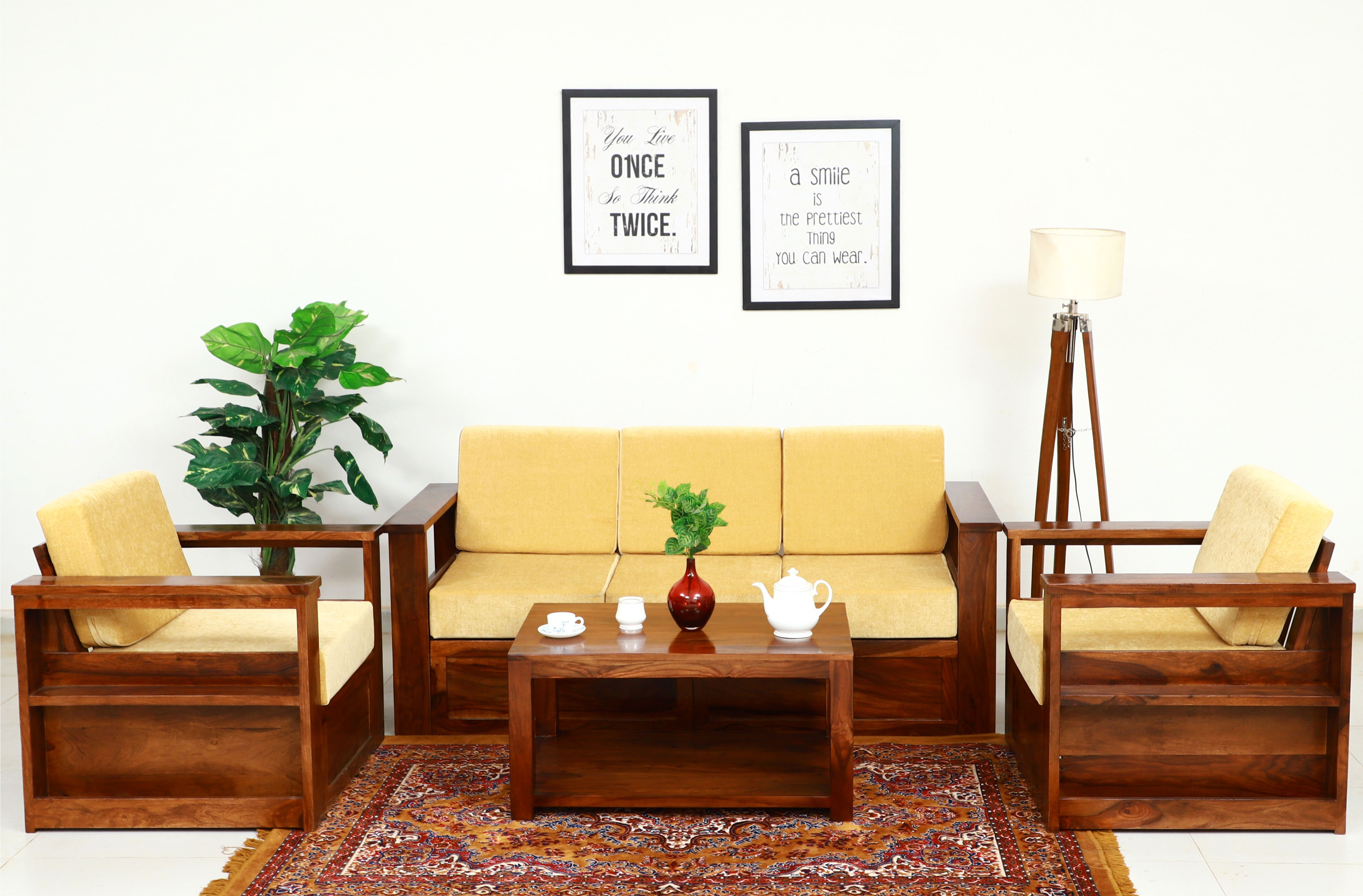 Wooden Sofa Set Buy Wooden Sofa Set Online At Best Prices Jodhpuri Furniture Get Upto 60 Off In 2020 Wooden Sofa Designs Latest Wooden Sofa Designs Furniture