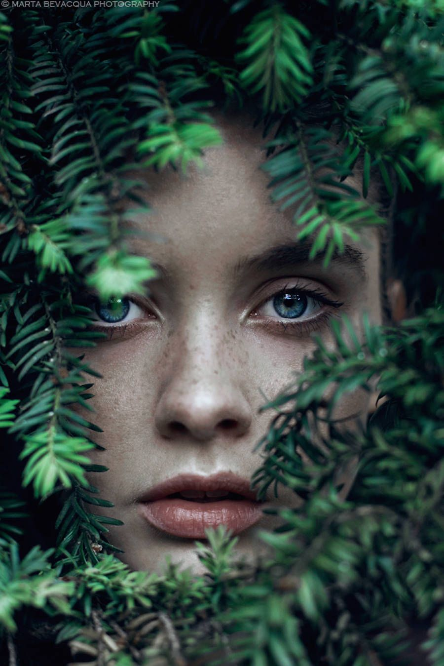Artistic girl photography by marta bevacqua portrait