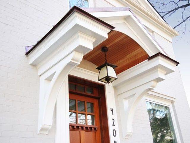 40 Lovely Door Overhang Designs Portico Design Door Overhang Portico Entry