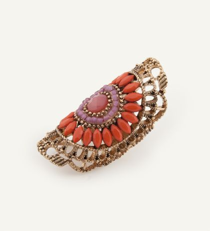 Sunburst Coral Ring