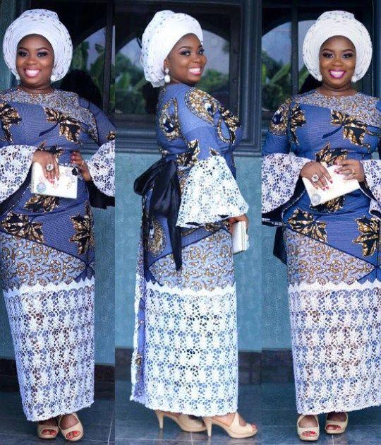d608dacbf8ef2f Ankara Skirt and Blouse Style for Wedding   Sew Inspired   Ankara ...