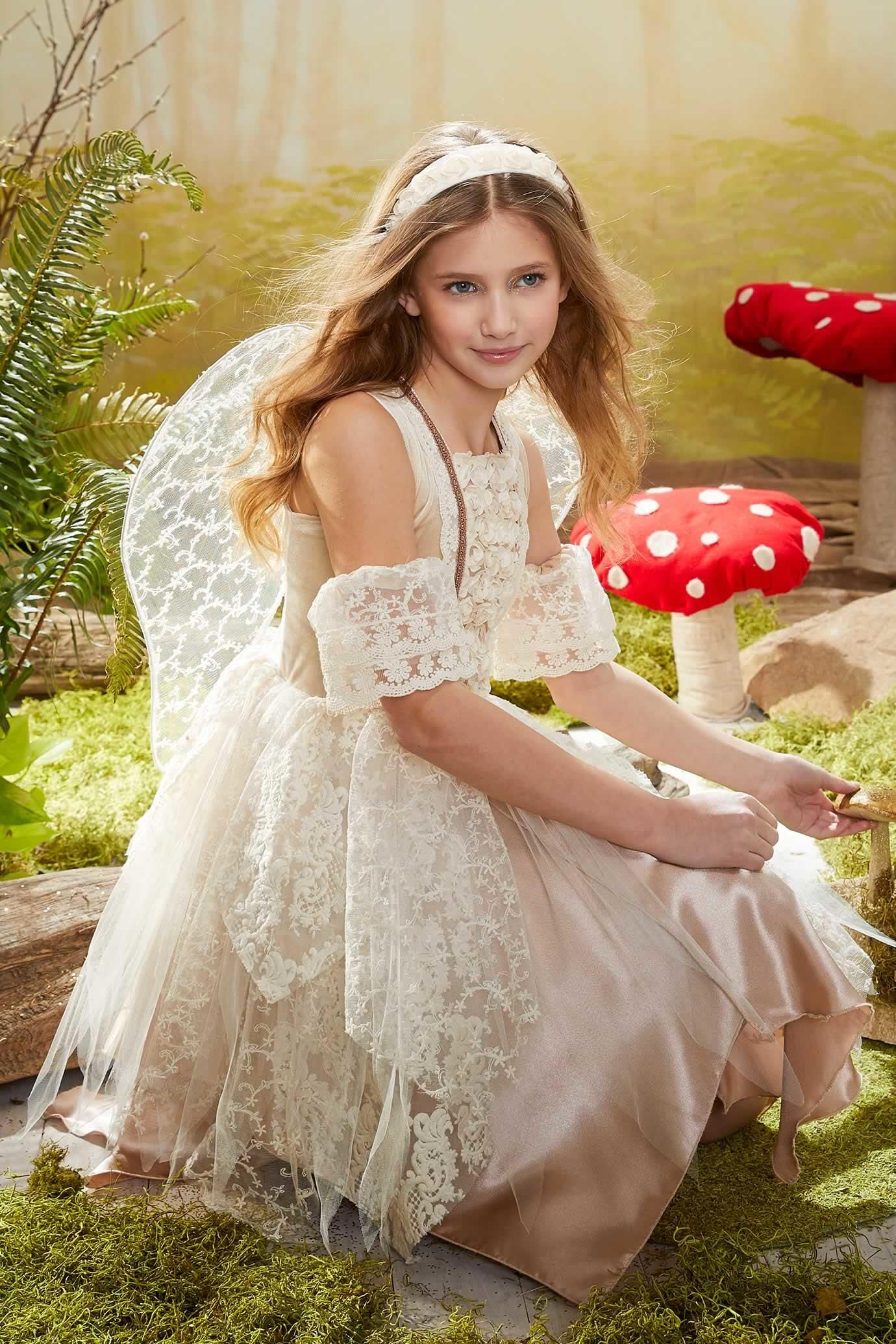 Vintage boho fairy costume for girls flower girls pinterest
