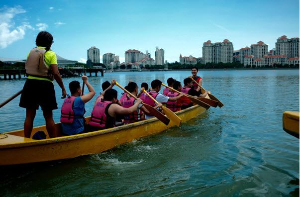 Team building services in Singapore