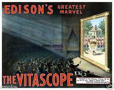 Vintage Advertising Posters   Vitascope