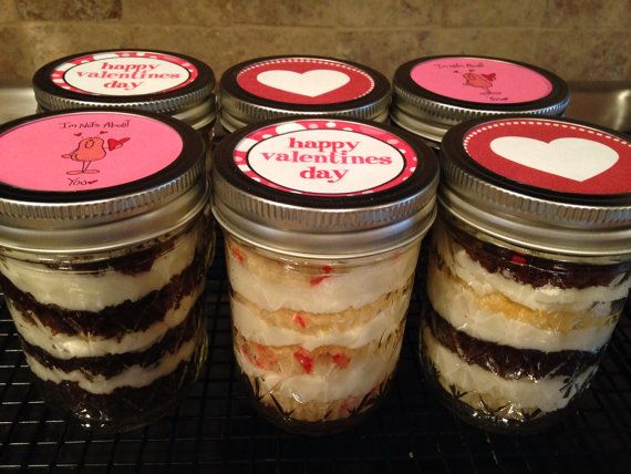 There's a jarty (jar party) in every jar.  Cupcakes and buttercream are sure to make anyone smile.