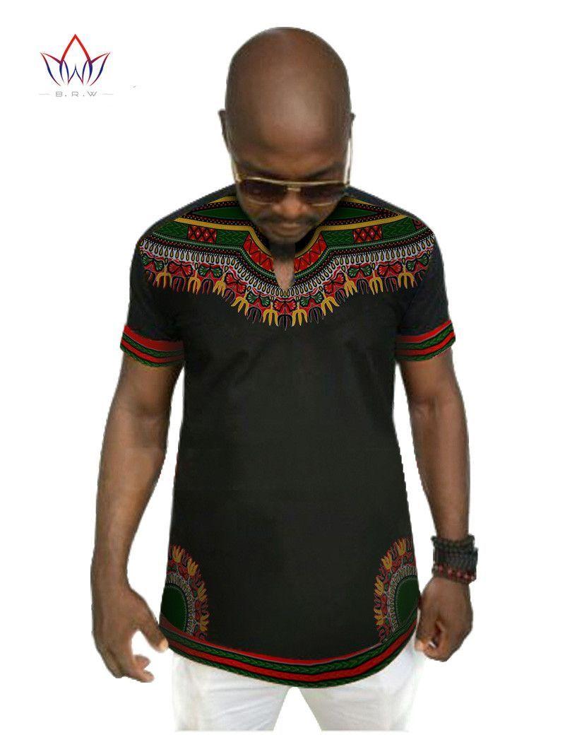 b3af6c6a249ff Men s African Print Short Sleeve Dashiki